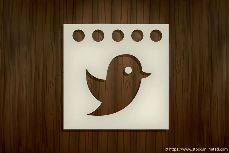 Logo van Twitter